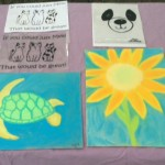 art show pastels and screenprints 2015
