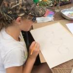 chalk pastel planning