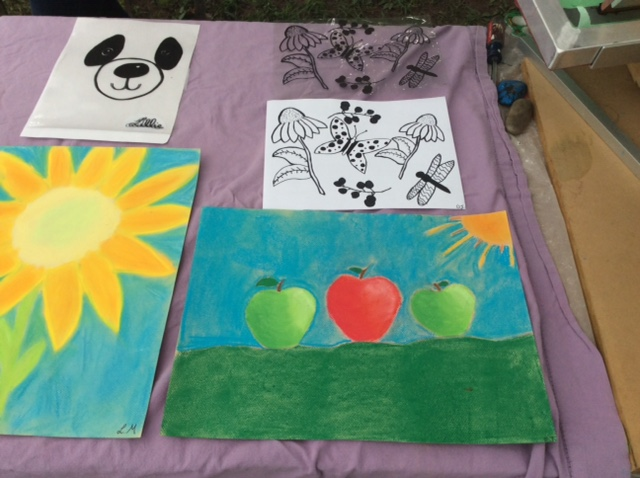 finished pastels & nature compositions