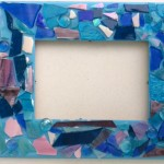mosaic frame pre-grout 2015