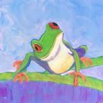 tree frog acrylic