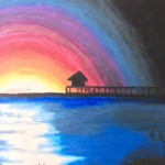 Oil pastels